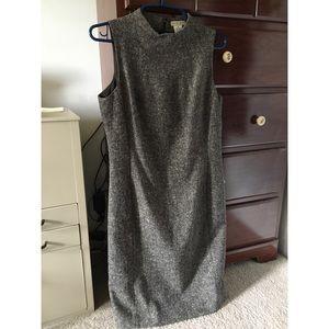 Apostrophe wool blend shift dress